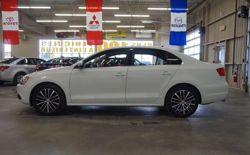 2014 Volkswagen Jetta 1.8 TSI Highline (cuir-toit ouvrant) #3
