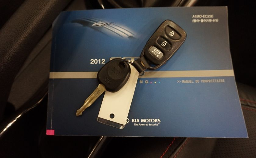 2012 Kia Forte SX (cuir-toit ouvrant) #29