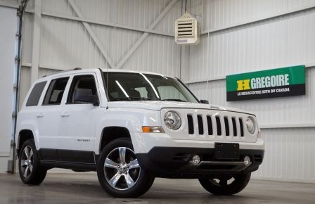 2016 Jeep Patriot High Altitude 4WD (toit-cuir) à Abitibi