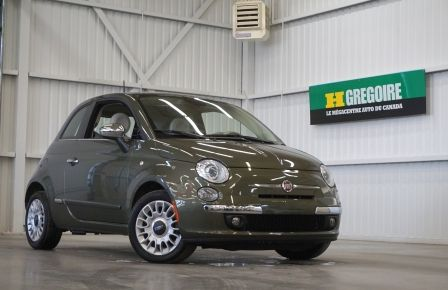 2015 Fiat 500 (cuir-toit ouvrant) in Drummondville