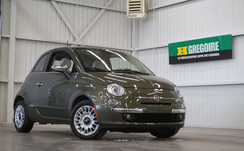 2015 Fiat 500 (cuir-toit ouvrant) #0