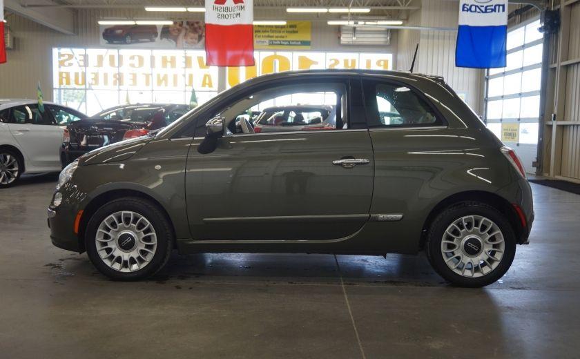 2015 Fiat 500 (cuir-toit ouvrant) #3