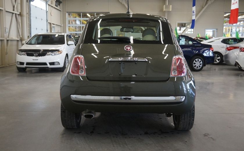 2015 Fiat 500 (cuir-toit ouvrant) #5
