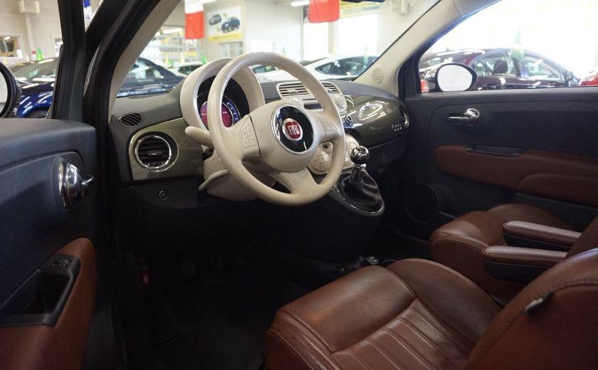 2015 Fiat 500 (cuir-toit ouvrant) #8