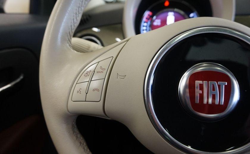 2015 Fiat 500 (cuir-toit ouvrant) #9