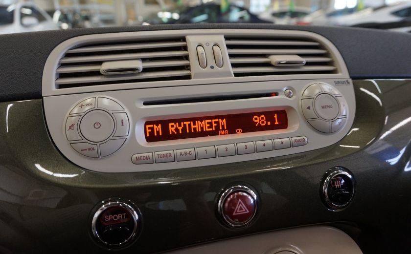 2015 Fiat 500 (cuir-toit ouvrant) #12