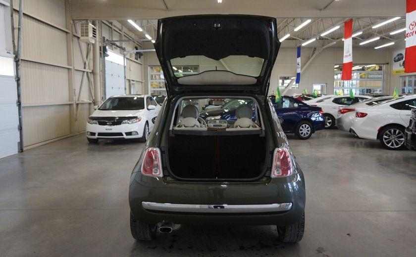 2015 Fiat 500 (cuir-toit ouvrant) #19