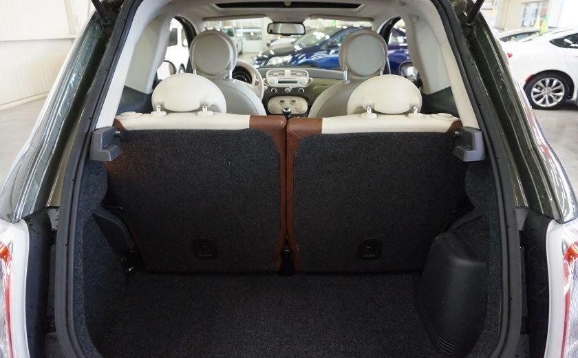 2015 Fiat 500 (cuir-toit ouvrant) #20