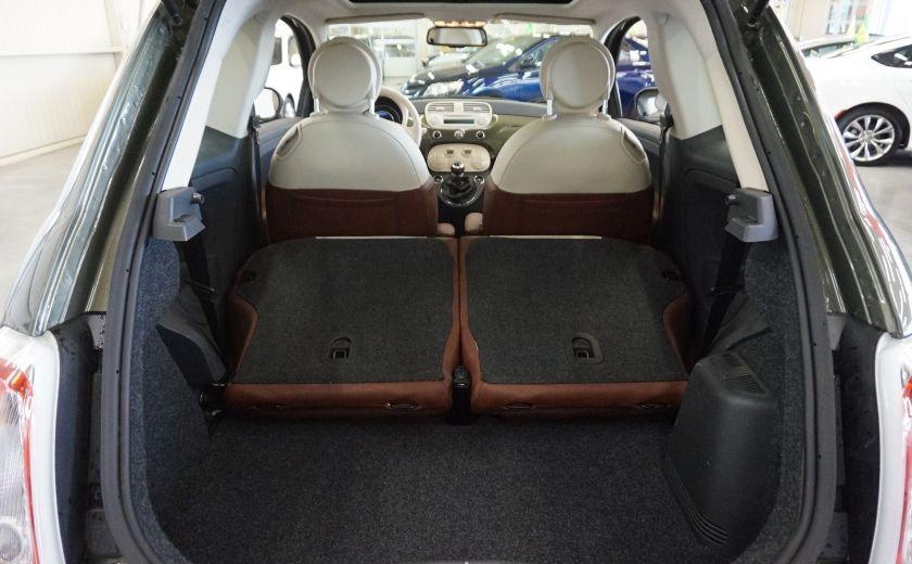 2015 Fiat 500 (cuir-toit ouvrant) #22