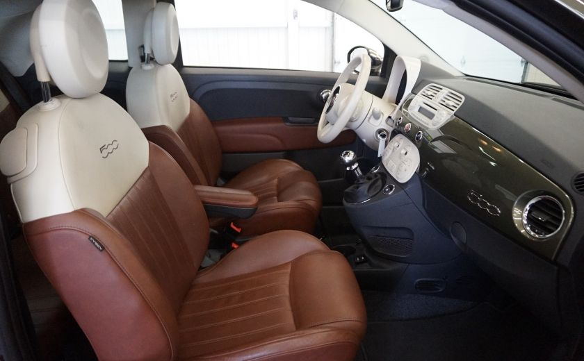 2015 Fiat 500 (cuir-toit ouvrant) #24