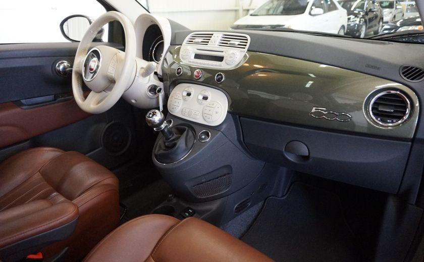 2015 Fiat 500 (cuir-toit ouvrant) #25