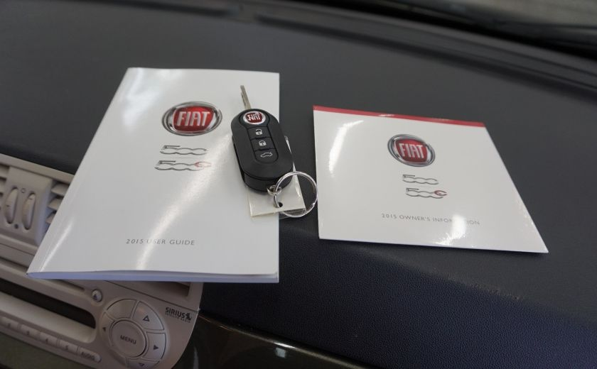 2015 Fiat 500 (cuir-toit ouvrant) #26