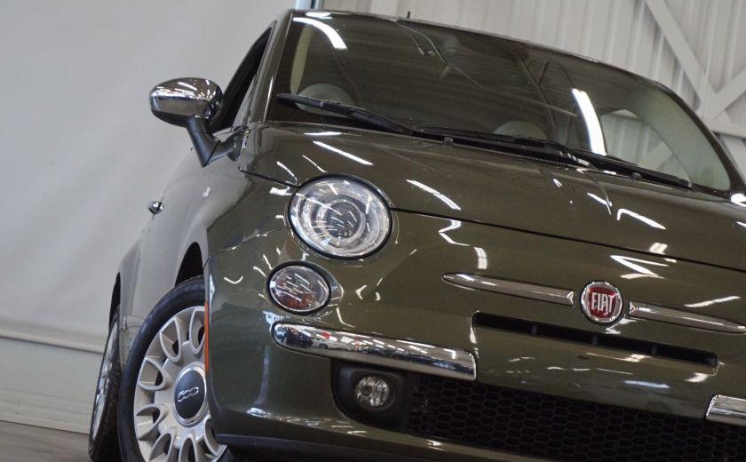 2015 Fiat 500 (cuir-toit ouvrant) #28
