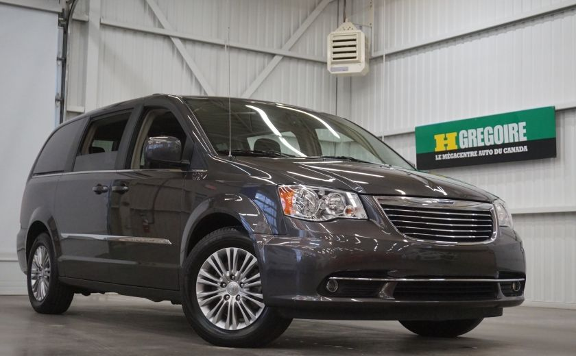 2016 Chrysler Town And Country Touring (cuir-caméra de recul) #0