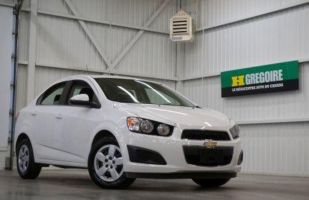 2015 Chevrolet Sonic LT (caméra de recul) à Saguenay