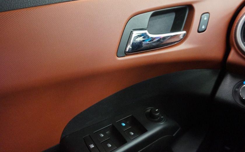 2015 Chevrolet Sonic LT (caméra de recul) #20