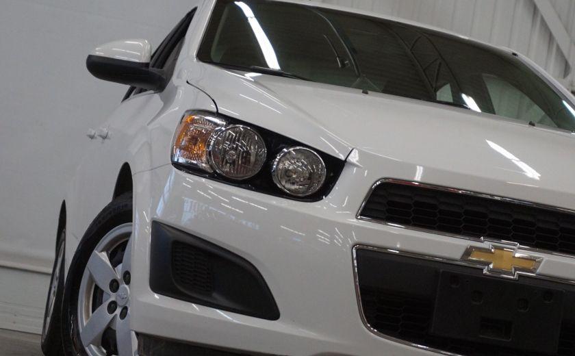2015 Chevrolet Sonic LT (caméra de recul) #30