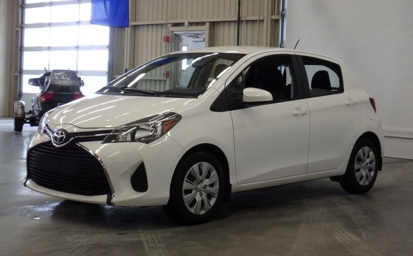 2015 Toyota Yaris LE #2