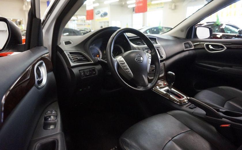 2013 Nissan Sentra SL (caméra-toit-navi-cuir) #8
