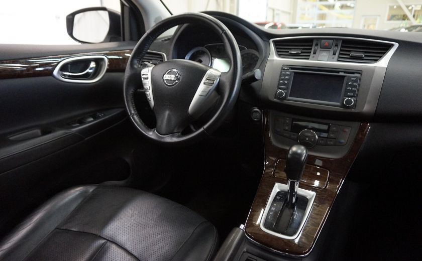 2013 Nissan Sentra SL (caméra-toit-navi-cuir) #11