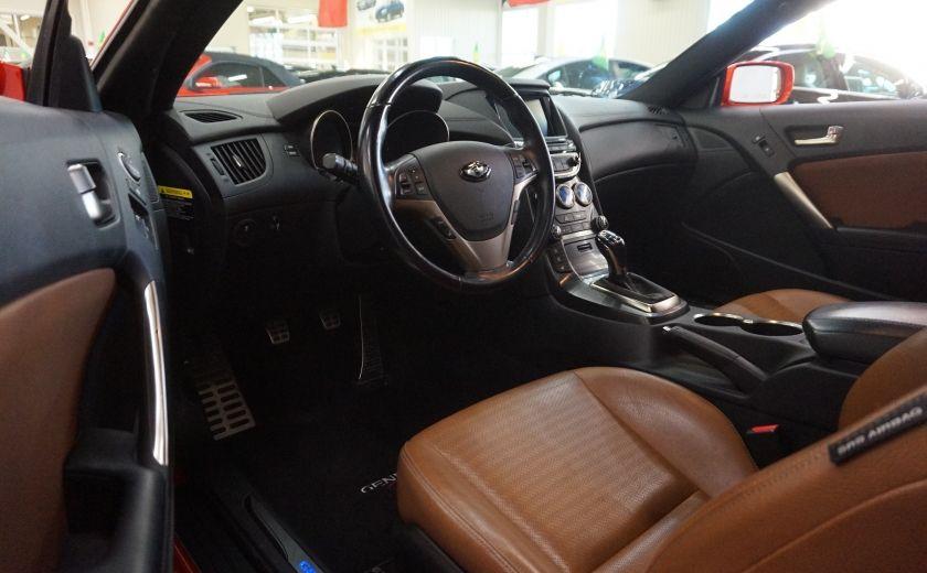 2013 Hyundai Genesis GT COUPE V6 3.8 (cuir-toit-navi) #9