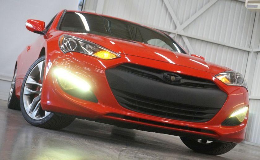 2013 Hyundai Genesis GT COUPE V6 3.8 (cuir-toit-navi) #29
