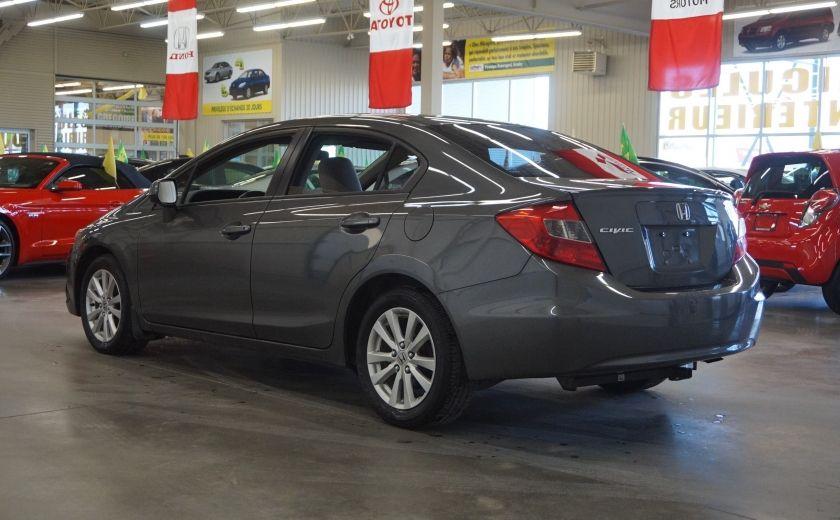 2012 Honda Civic EX (toit ouvrant) #4