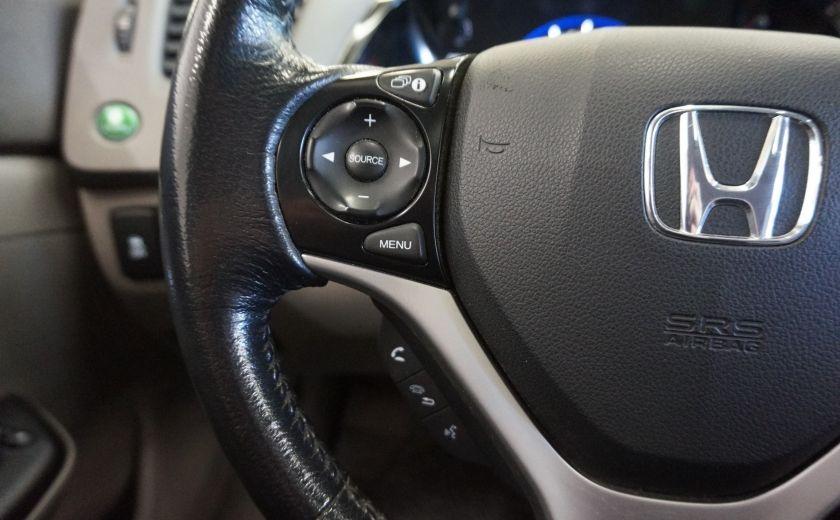 2012 Honda Civic EX (toit ouvrant) #12