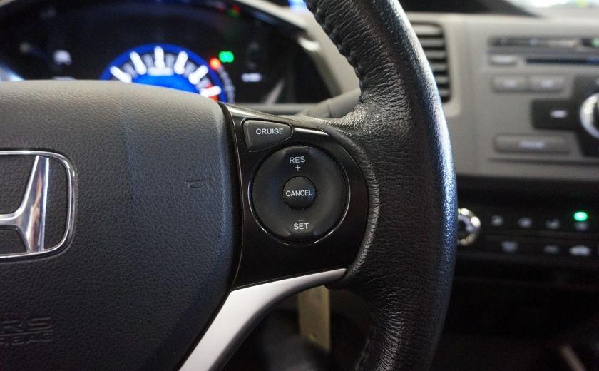 2012 Honda Civic EX (toit ouvrant) #13