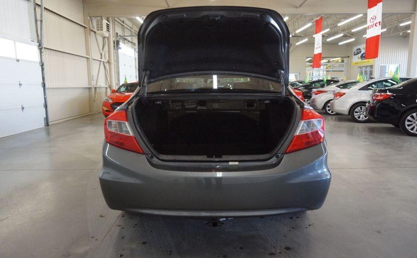 2012 Honda Civic EX (toit ouvrant) #20