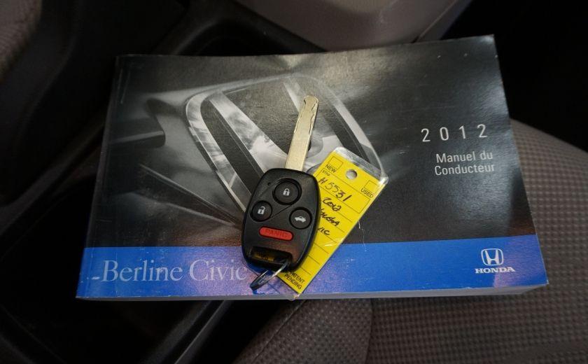 2012 Honda Civic EX (toit ouvrant) #26