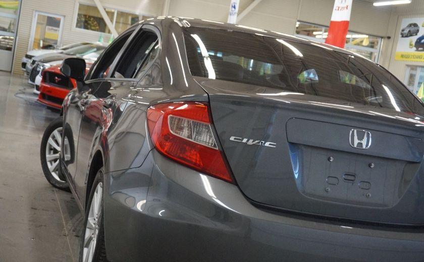 2012 Honda Civic EX (toit ouvrant) #29
