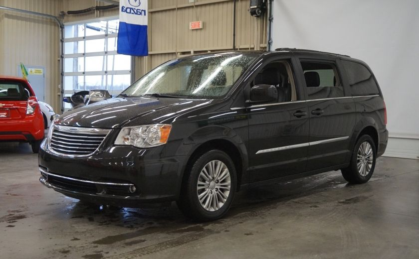 2015 Chrysler Town And Country Touring Stow'n Go (cuir-caméra-tv/dvd) #2