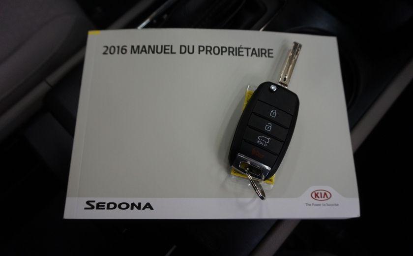 2016 Kia Sedona LX 8 Places (caméra et sonar de recul #27