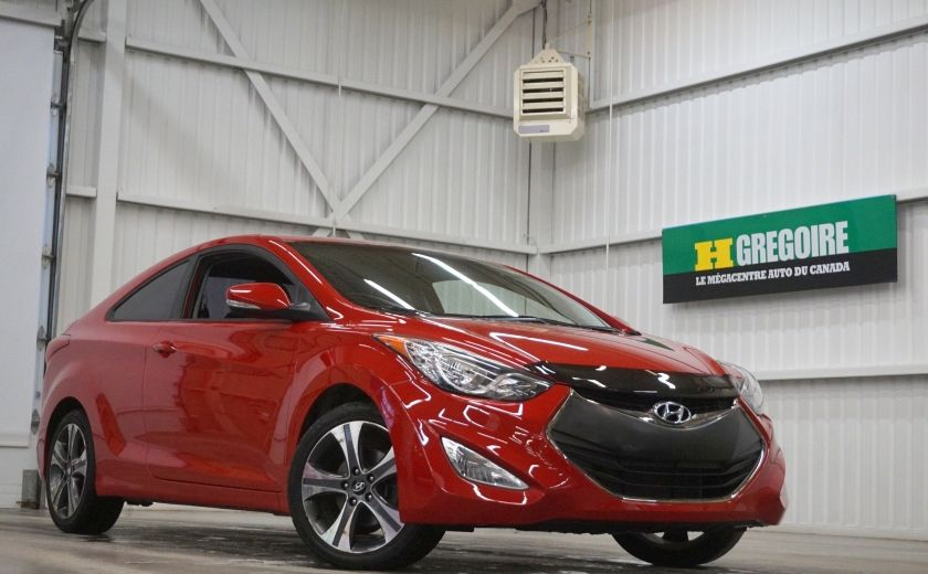 2013 Hyundai Elantra Limited (cuir-toit-caméra-navi) #0