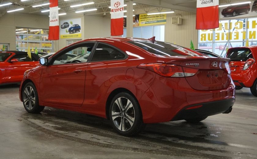 2013 Hyundai Elantra Limited (cuir-toit-caméra-navi) #4