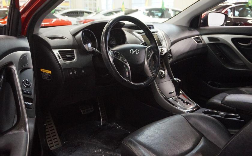 2013 Hyundai Elantra Limited (cuir-toit-caméra-navi) #8