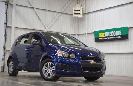 2014 Chevrolet Sonic LT (caméra de recul) à Saguenay
