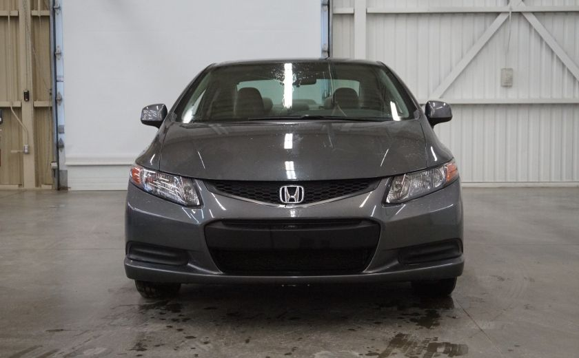 2012 Honda Civic LX Coupé #1