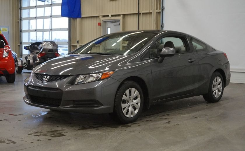 2012 Honda Civic LX Coupé #2