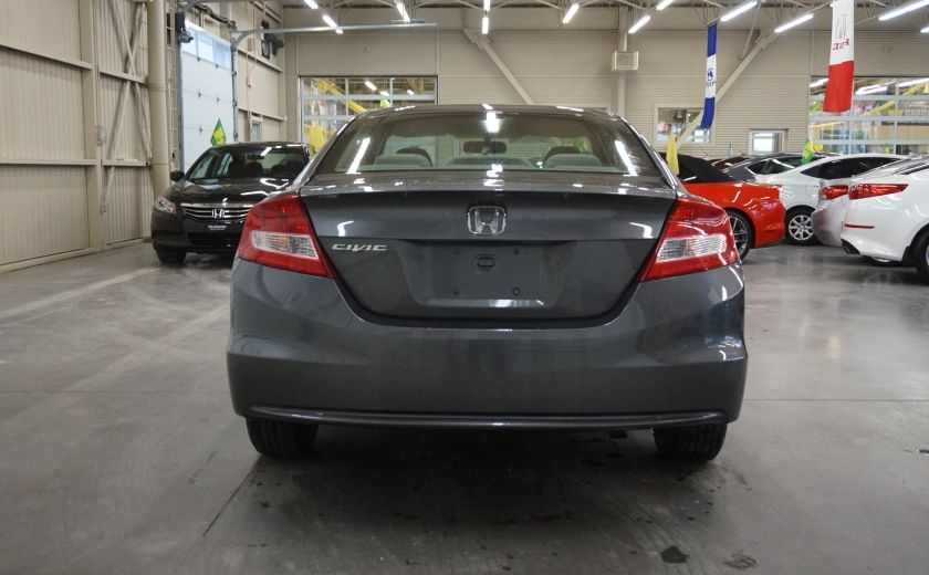 2012 Honda Civic LX Coupé #5