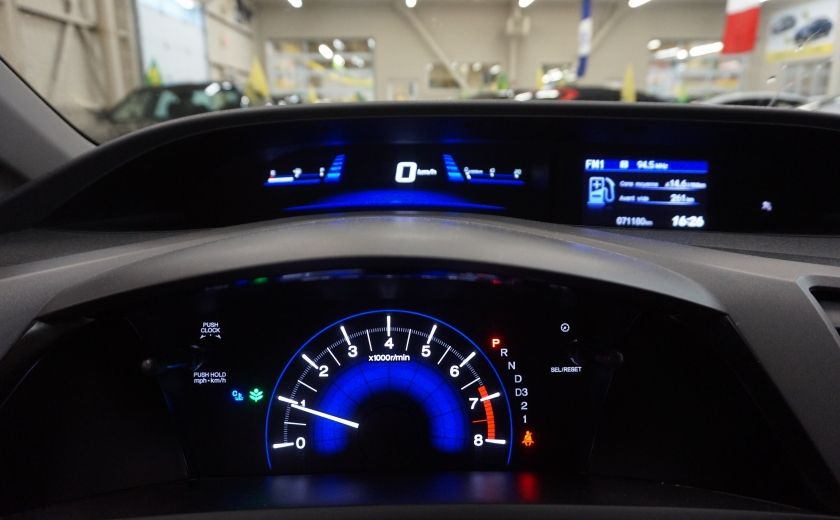 2012 Honda Civic LX Coupé #10