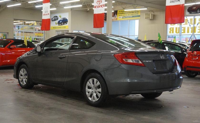 2012 Honda Civic LX Coupé #4