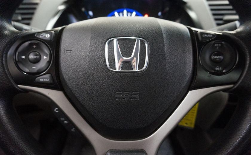 2012 Honda Civic LX Coupé #9