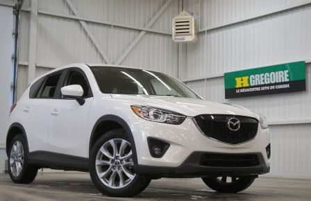 2013 Mazda CX 5 GT 4WD (caméra-cuir-toit-navi) in New Richmond