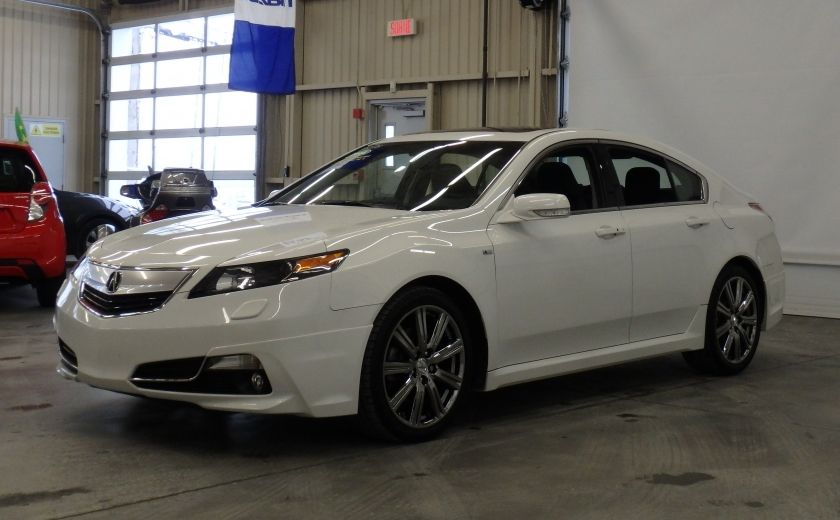 2014 Acura TL A-Spec SH-AWD (cuir-toit) #2