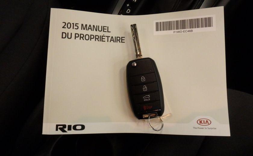 2015 Kia Rio LX+ #26