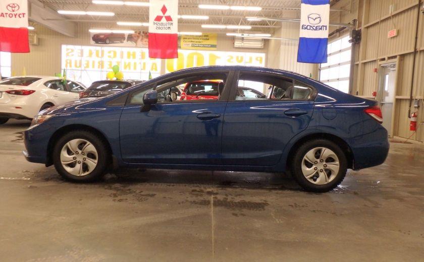 2013 Honda Civic LX #3