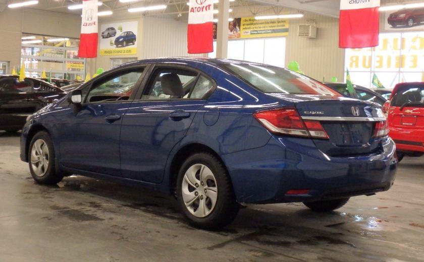 2013 Honda Civic LX #4