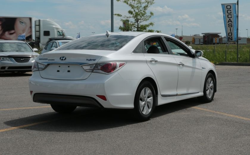 2013 Hyundai Sonata Hybrid A/C MAGS BLUETOOTH #7